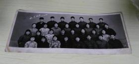 老照片 欢送战友 1977