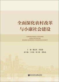 全面深化农村改革与小康社会建设