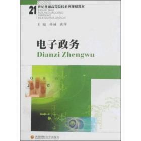 电子政务/21世纪普通高等院校系列规划教材