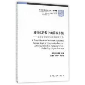 城镇化进程中的海西乡镇:福建省莆田市江口镇调查报告
