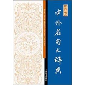 中外名句大辞典