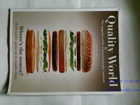 QW quality world 优质世界杂志 2013年9月 THE VOICE OF THE QUALITY PROFESSION
