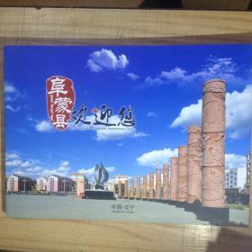 阜蒙县欢迎您巨幅画册