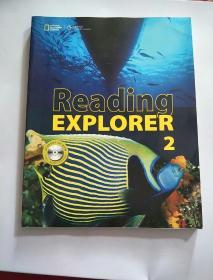 Reading Explorer 2 国家地理英语阅读丛书中级(附光盘)书内有字迹画线,看图