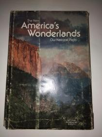 The New Americas Wonderlands Our National Parks(签赠本)