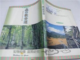 原版日本日文书 森の散步道 大渡肇 株式会社保健同人社 1998年4月 大32开软精装