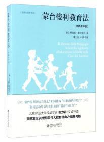 发展心理学书系:蒙台梭利教育法(注疏点评版)