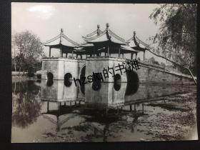 【名家摄影】摄影名家陆惠君作品_江苏扬州瘦西湖之五亭桥及水中倒影
