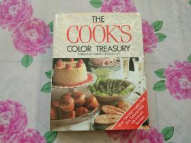 THE COOK\S COLOR TREASURY (16开精装厚册)