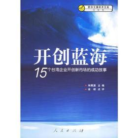 开创蓝海:15个台湾企业开创新市场的成功故事