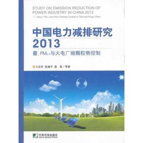 中国电力减排研究2013霾、PM2.5与火电厂细颗粒物控制