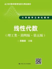 线性代数(理工类·简明版·第五版)/21世纪数学教育信息化精品教材·大学数学立体化教材
