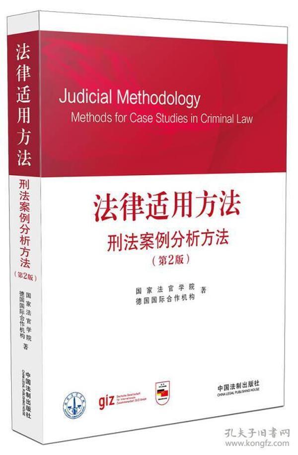 法律适用方法:刑法案例分析方法(第2版)