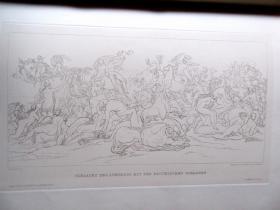 【皮装】1882年/奥地利皇家印刷坊刷/布面精装/大型版画丛书图册《版画艺术》第4期/含原版木刻与铜版画(包括当代画家原作以及大画家费尔巴哈,门采尔等作品的复制品)无数木刻/铜版印刷 DIE GRAPHISCHE KÜNSTE