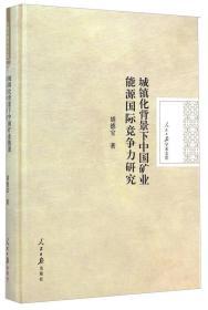 人民日报学术文库:城镇化背景下中国矿业能源国际竞争力研究