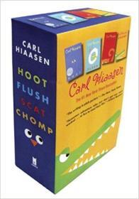 作者  4本一套 Hiaasen 4-Book Trade Paperback Box Set