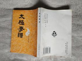 武术书籍《中华武术文库古籍部:太极拳谱》繁体竖版。铁橱北4--6