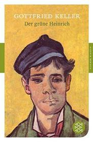 德文 德语 小说 绿衣亨利 Der grüne Heinrich 瑞士文学名著 凯勒