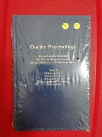 Goethe Proceedings(歌德逝世一百五十周年纪念文集)