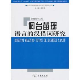 侗台苗瑶语言的汉借词研究
