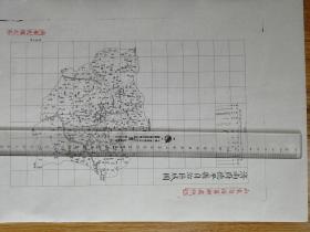 济南府德平县自治区域图【该地最早的按比例尺绘制的地图】
