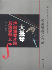 中国音乐学科研与教学系列丛书:经典管弦乐作品大提琴声部重要片段及演奏释义