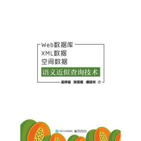 Web数据库、XML数据、空间数据语义近似查询技术
