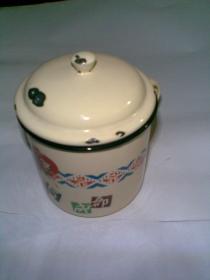 1965年成都花会(老搪瓷缸子一个)