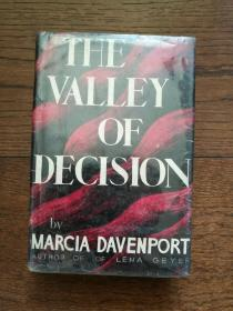 THE VALLEY OF DECISION(英文原版,空谷芳草)