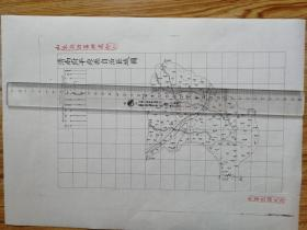 济南府平原县自治区域图【该地最早的按比例尺绘制的地图】