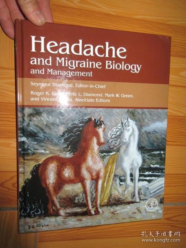 Headache and Migraine Biology and Managem....        (详见图),硬精装