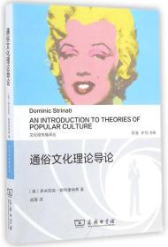 文化和传播译丛:通俗文化理论导论