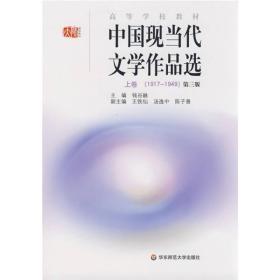 正版二手中国现当代文学作品选上卷第三3版钱谷融9787561760604