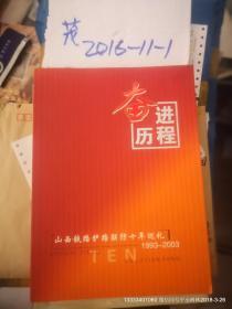 山西铁路护路联防十年巡礼画册 1993--2003