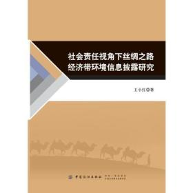 社会责任视角下丝绸之路经济带环境信息披露研究