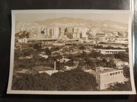 香港七十年代九龙美孚或九龙湾一带照片一张
