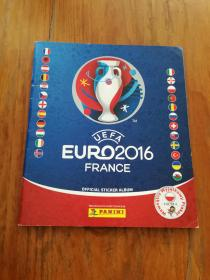 UEFA EURO 2016 FRANCE(OFFICIAL STICKER ALBUM) (法文原版)