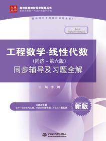 工程数学 线性代数(同济·第六版)同步辅导及习题全解/高校经典教材同步辅导丛书
