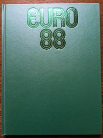 原版1988欧洲杯硬精铜版全彩画册