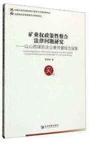 矿业权政策性整合法律问题研究