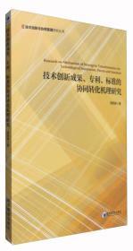 技术创新与协同管理研究丛书:技术创新成果、专利、标准的协同转化机理研究