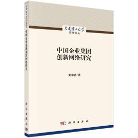中国企业集团创新网络研究