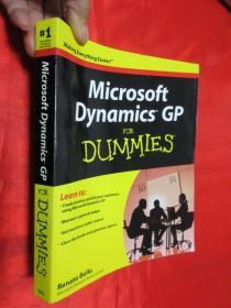 Microsoft Dynamics Gp For Dummies(R)          【详见图】