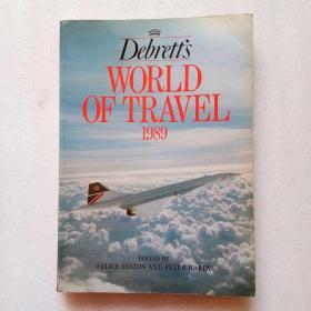 Debrett's WORLD OF TRAVEL 1989