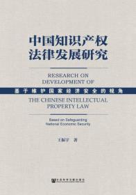 中国知识产权法律发展研究:基于维护国家经济安全的视角