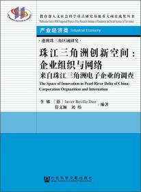 珠江三角洲创新空间:企业组织与网络·来自珠江三角洲电子企业的调查