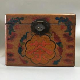 清代漆器茶箱