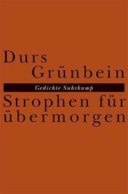 德文 德语 Strophen für übermorgen: Gedichte