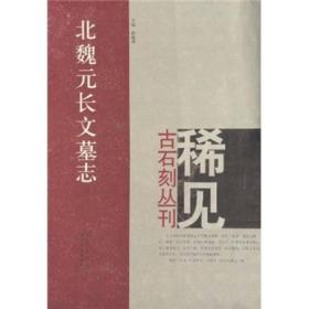 稀见古石刻丛刊:北魏元长文墓志