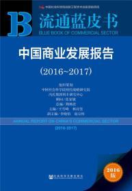 2016-2017-中国商业发展报告-流通蓝皮